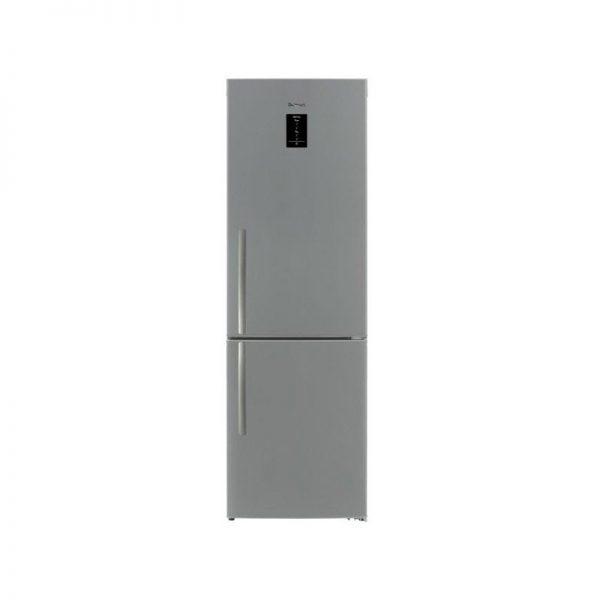 brandt-refrigerator-combi-418-litre-no-frost-digital-silver-bfc639xeg