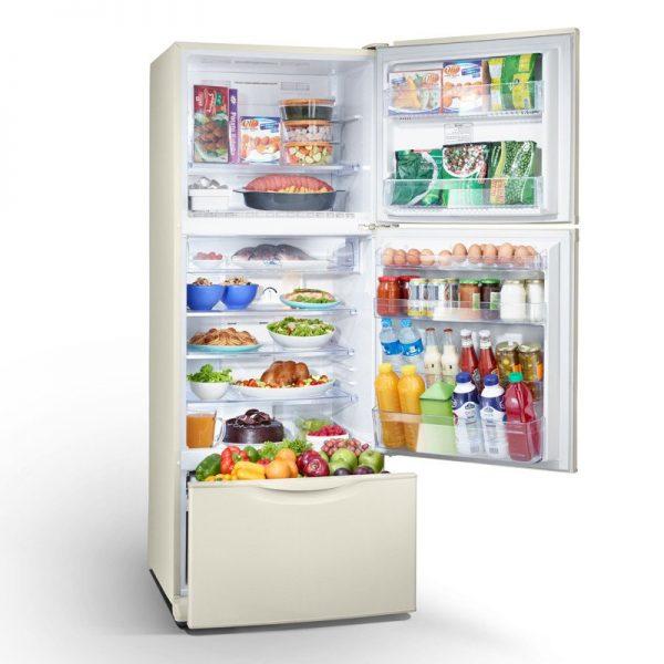 toshiba-refrigerator-3-doors-395-liter-gold-color-no-frost-gr-efv45-g