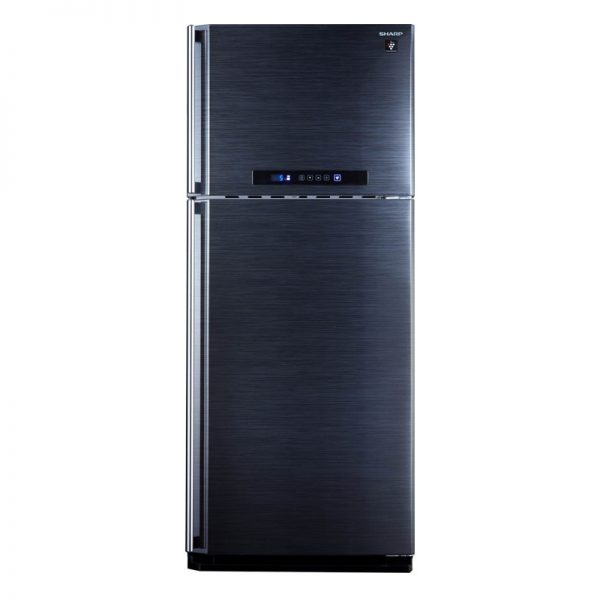 sharp-refrigerator-450-litre-digital-2-door-black-color-with-plasma-cluster-sj-pc58a_bk_
