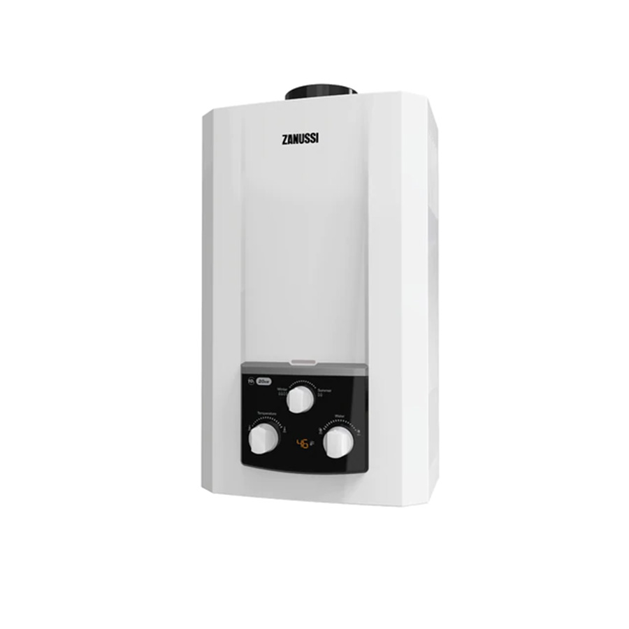 zanussi-10-l-white-gas-water-heater-with charger-zyg10113wl