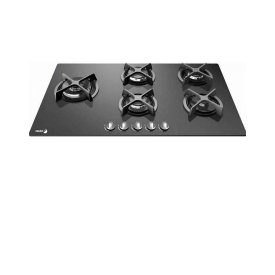 fagor-gas-built-in-hob-5-burner-90-cm-glass-black-5CFI-95PGLSTXA
