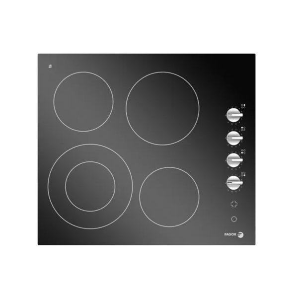 fagor-electric-built-in-hob-4-burner-60-cm-black-ceramic-with-staniless-frame-2vft-60kx